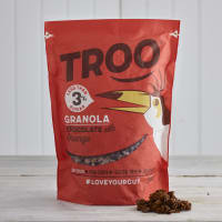 Troo Granola Dark Chocolate with Orange Granola, 350g