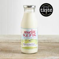 Nourish Organic Natural Kefir in Glass, 500ml