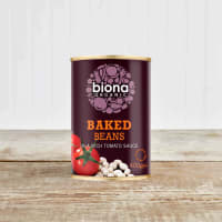 Biona Organic Baked Beans in Tomato Sauce, 400g