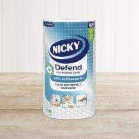 Nicky Defend Antibacterial Multipurpose Towel, 100 Sheets
