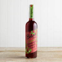 Belvoir Organic Strawberry & Raspberry Cordial in Glass, 500ml