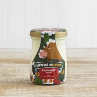 The Herds and the Bees Raspberry Layered Yoghurt in Glass, 125g