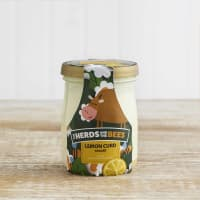 The Herds and the Bees Lemon Curd Layered Yoghurt  in Glass, 125g