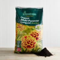 Durstons Organic Peat-Free Multi-Purpose Compost, 40L