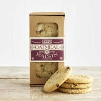 Lottie Shaw's Oatmeal and Raisin Biscuits, 180g