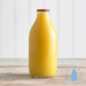 Orange Juice Glass Bottle, 568ml, 1pt