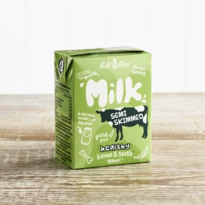 Children's Semi Skimmed Milk Carton, 189ml