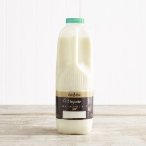 Milk & More Organic Semi Skimmed Milk, 2pt