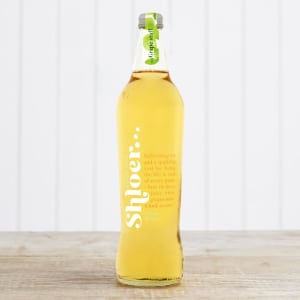 Shloer Sparkling White Grape Juice in Glass, 750ml