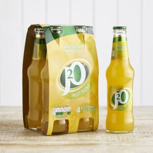 J2O Apple & Mango Juice Drink, 4 x 275ml