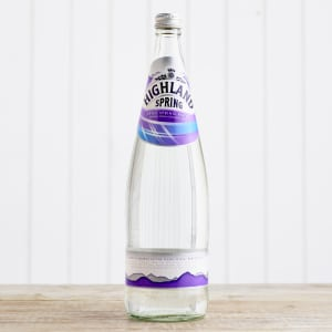 Highland Spring Still Water in Glass, 1L