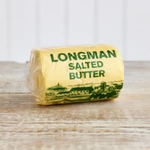 Longman's Rolled Salted Butter, 250g