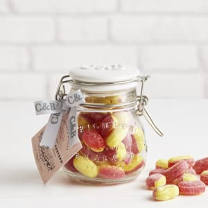 Cartwright & Butler Rhubarb & Custard Hard Boiled Sweets, 190g