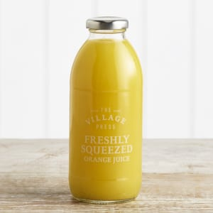 The Village Press Freshly Squeezed Orange Juice in Glass, 500ml