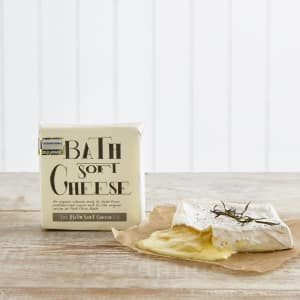Organic Bath Soft Cheese, 250g