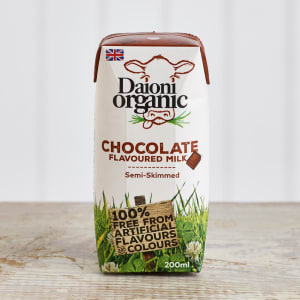 Daioni Organic Chocolate Flavoured Milk, 200ml
