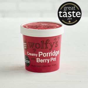 Wolfys Creamy Porridge with Berry Pot, 100g