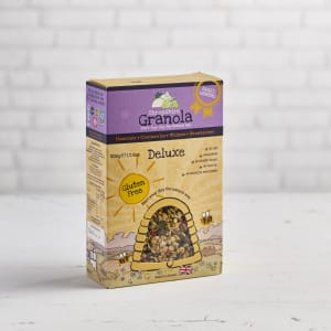 Shropshire Granola Deluxe Cranberries, Sultanas, Hazelnuts & Walnuts, 500g