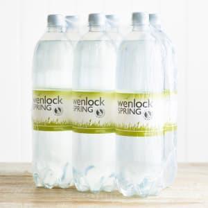 Wenlock Spring Sparkling Spring Water, 6 x 1.5L