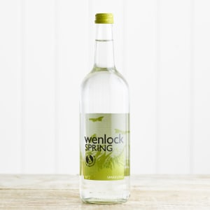 Wenlock Spring Sparkling Spring Water in Glass, 750ml