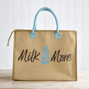 Milk & More Hessian Cool Bag