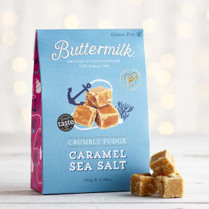 Buttermilk Caramel Sea Salt Fudge Sharing Box 150g
