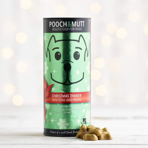 Pooch and Mutt Christmas Dinner Treats, 125g