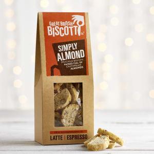 Great British Biscotti Co. Simply Almond Biscotti, 100g