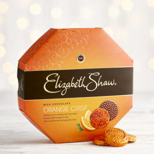 Elizabeth Shaw Milk Chocolate  Orange Crisp, 175g