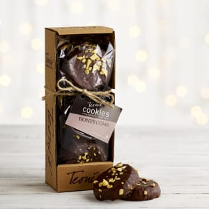 Teoni's Cookies Enrobed Chocolate & Honeycomb Shortbread, 225g