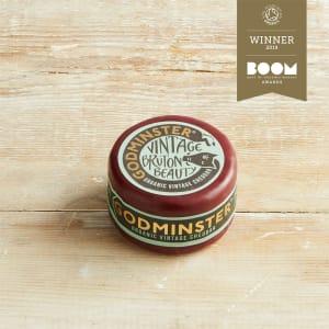 Godminster Vintage Organic Cheddar -200g Round