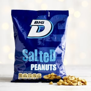 Big D Salted Peanuts, 240g