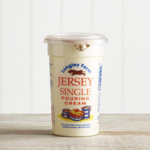 Longley Farm Single Pouring Cream 250ml