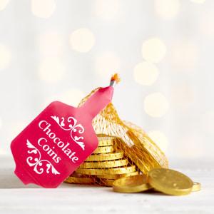 Milk Chocolate Coins, 50g