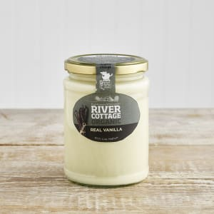 River Cottage Organic Real Vanilla Yoghurt in Glass, 475g