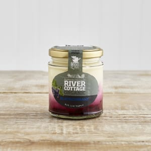 River Cottage Organic Blackcurrant Yoghurt in Glass, 160g