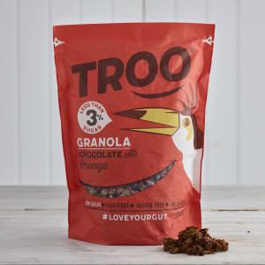 Troo Granola Dark Chocolate with Orange Granola, 350g