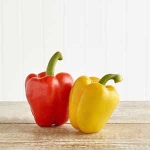 2 Organic Mixed Peppers