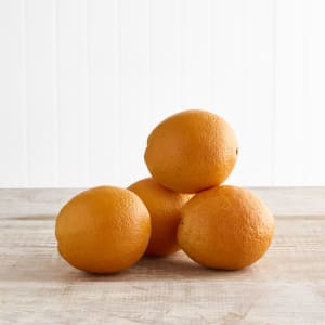 Organic Oranges, 4 pack