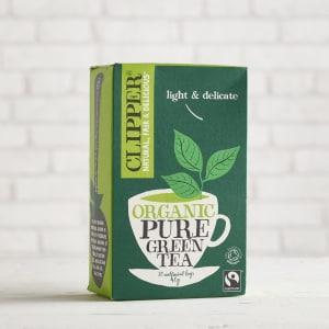 Clipper Organic Pure Green Tea, 20 bags