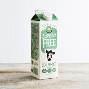 Lactofree Fresh Semi Skimmed Milk, 1L