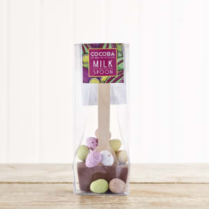 Cocoba Mini Easter Egg Hot Chocolate Spoon, 50g