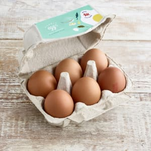 Humble Organic Medium Eggs, 6 pack