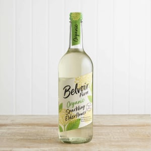 Belvoir Organic Elderflower Presse in Glass, 750ml