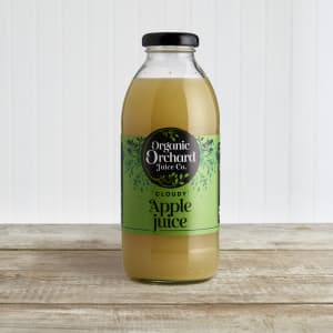 Organic Orchard Juice Co. Apple Juice in Glass, 500ml
