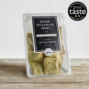 La Tua Pasta Pea & Shallot Ravioli, 250g