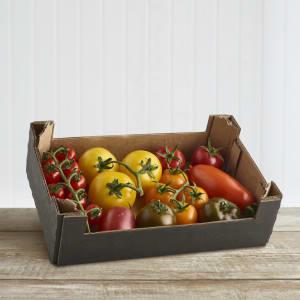 The Tomato Stall Mixed Organic Seasonal Tomatoes, 1kg