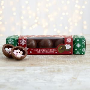 Cocoba Christmas Hot Chocolate Bombe Cracker