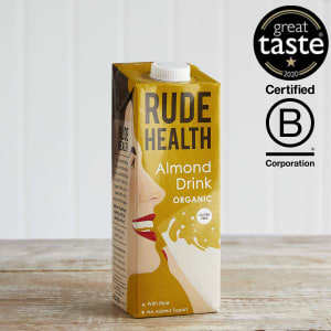 Rude Health Organic Almond Drink, 1L