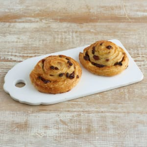 Artisan Bakery Pain au Raisin, 2 x 100g